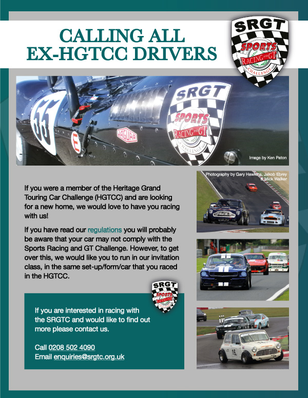 Call all ex-HGTCC Drivers